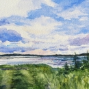 Pathway-To-The-Shore-Nancy-McLean-Watercolours