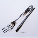 Fork-and-Pick-Nancy-McLean-Watercolours