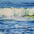 Nancy McLean Watercolours -Incoming Wave