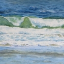 Nancy McLean Watercolours -Inverness Waves.JPG