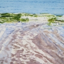 Nancy McLean Watercolours _Surf and Sand.JPG